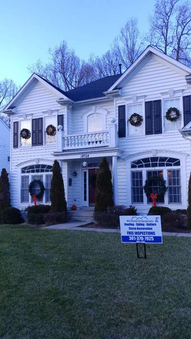 Olney, MD - New Certainteed, Landmark shingles