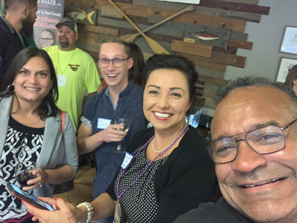 Milton, FL - At a Networking event promoting SEO Website design, Google My Business or GMB reviews and AmSpirit Business Connections Networking group!