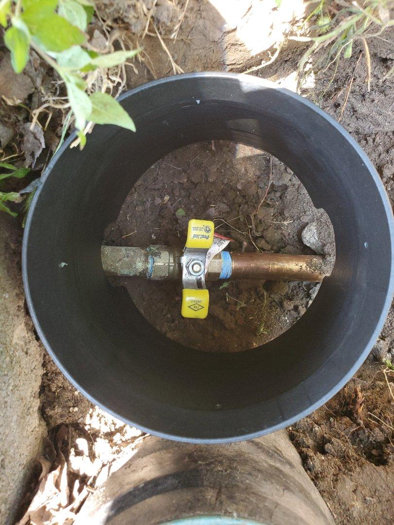 Water line repair in Round Rock Tx
