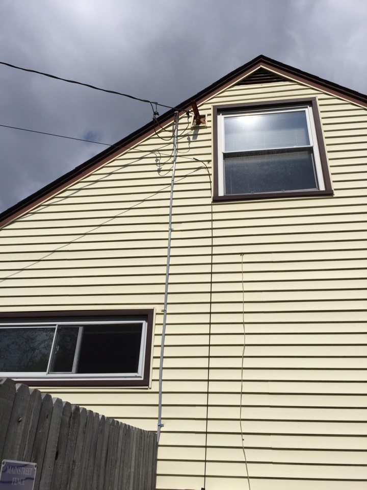 Brookhaven, PA - Replace 100 amp service cable Brookhaven electrician.