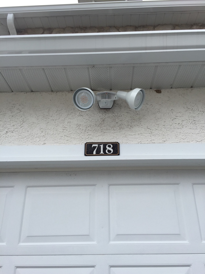 West Chester, PA - Install Rab stealth motion sensor security lights and new ceiling fan wall controls. Your trusted and local electrician