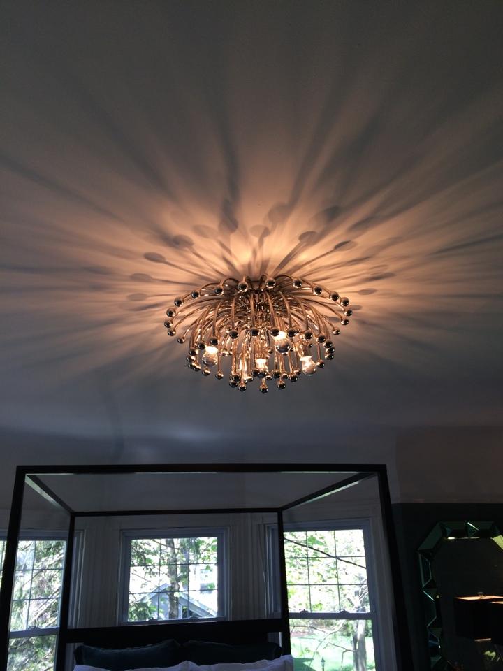 Swarthmore, PA - Install new light fixture