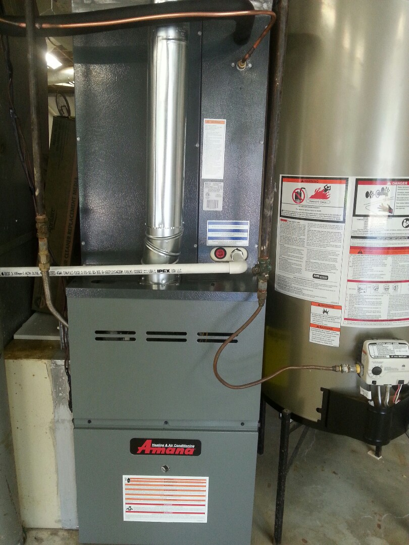 Hueytown, AL - Installed new 16 seer AC  and furnace