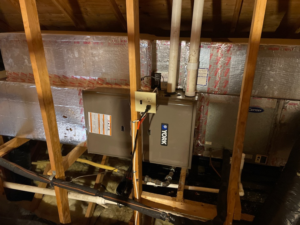 Natural gas furnace installed for a business in Chambersburg PA