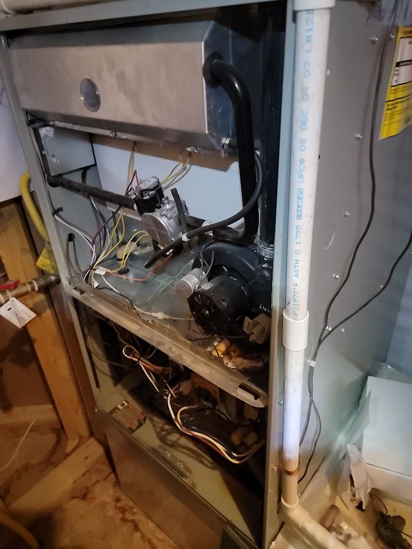 Repair Trane furnace
