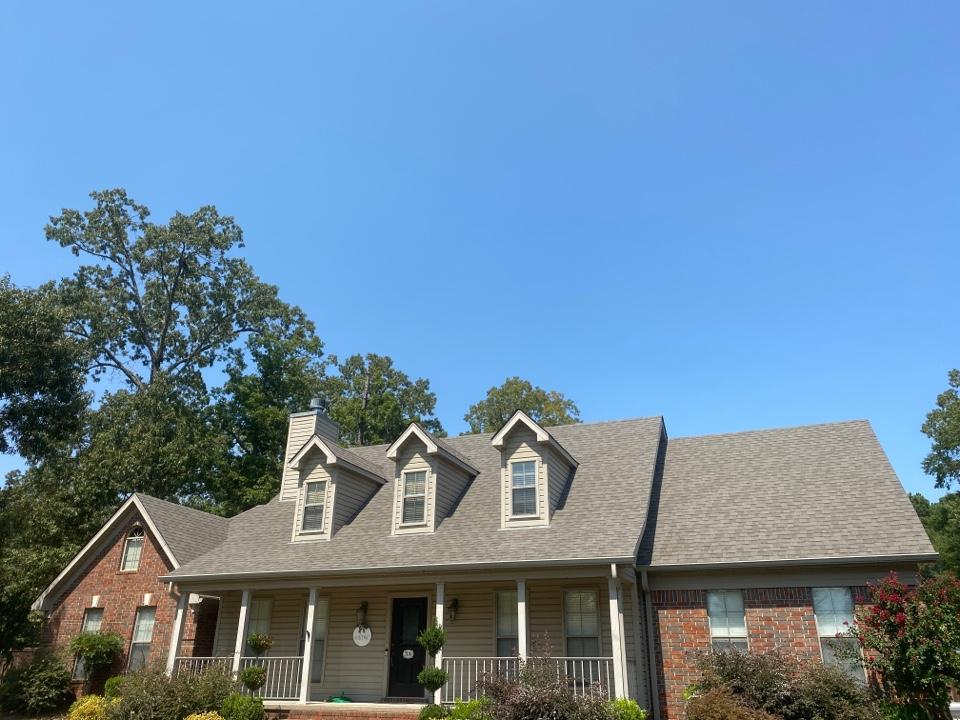 Sheridan, AR - Roof replacement, with IKO Cambridge Weatherwood Color shingles