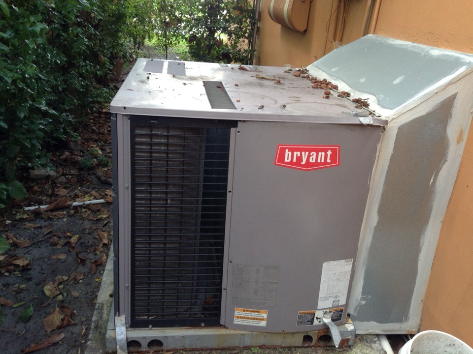 Estimate on replacement air conditioner.