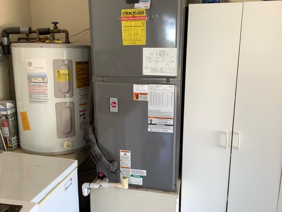 Fort Lauderdale, FL - AC Maintenance Call. Perform routine maintenance per maintenance agreement on Rheem air conditioning split system.