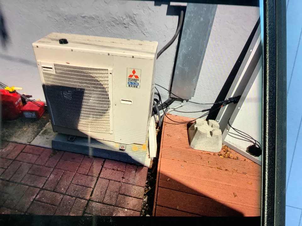 Fort Lauderdale, FL - Estimate to replace air conditioning mini split system. New unit will be installed this week.
