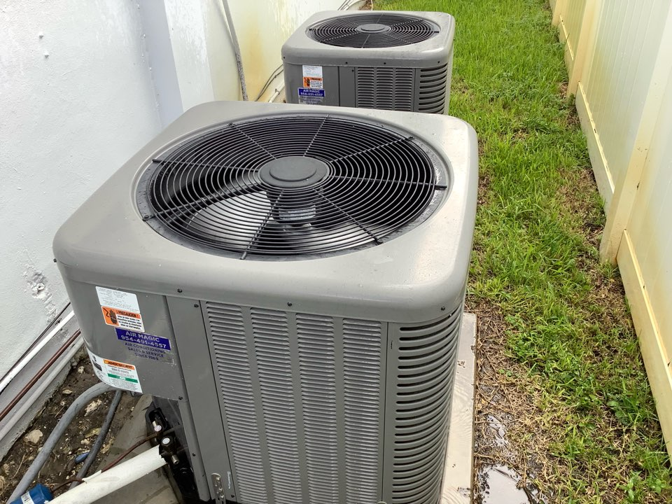 Fort Lauderdale, FL - AC Maintenance Call. Perform routine maintenance on Ruud air conditioning systems.