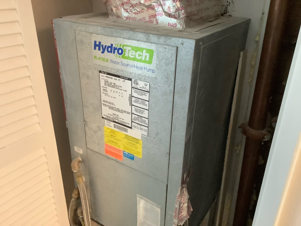 Fort Lauderdale, FL - AC Maintenance Call. Perform routine maintenance per maintenance agreement on Florida Heat Pump air conditioning system.
