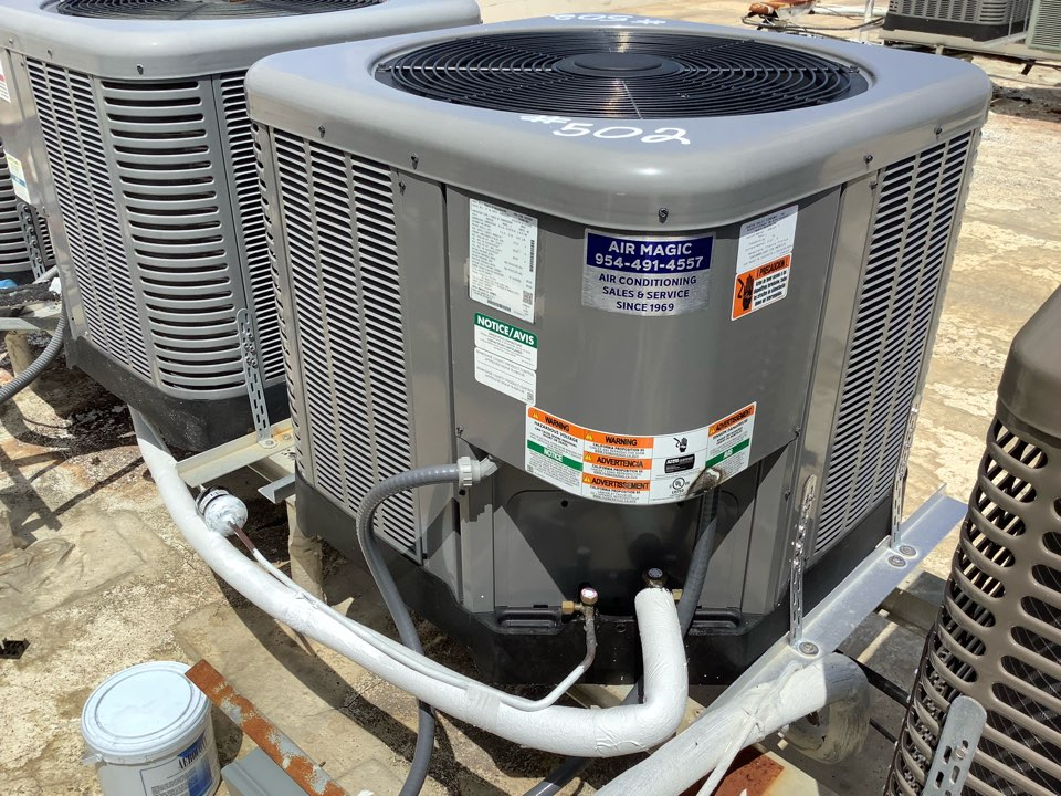 Oakland Park, FL - AC Maintenance Call. Perform routine maintenance on Ruud  air conditioning split system.