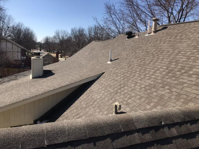 Tulsa, OK - Exterior, gutters, roofing