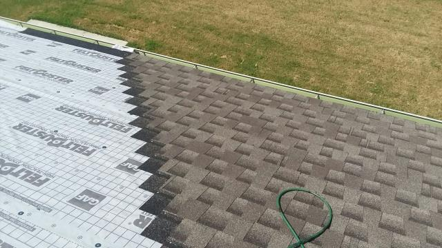 Owasso, OK - Roof and interior work in kitchen  and living room