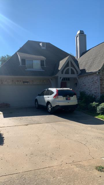 Tulsa, OK -  Free Inspection of missing shingles and prepared estimate for    the repair of the missing shingles and a possible replacement of power vent with a new solar power vent