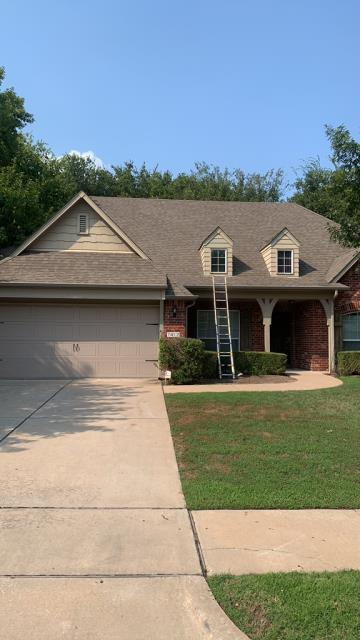 Broken Arrow, OK - Performed Inspection and sent estimate for reroof. Call us today for a free roof inspection and estimate- (918)600-9565