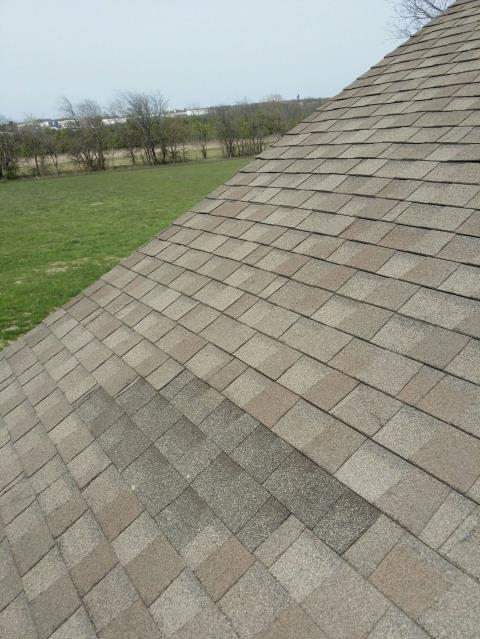 Tulsa, OK - Replaced and sealed shingles
