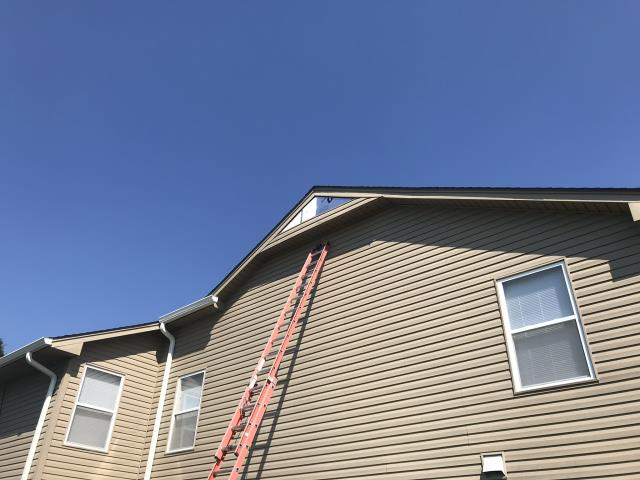 Chouteau, OK - Repaired Siding