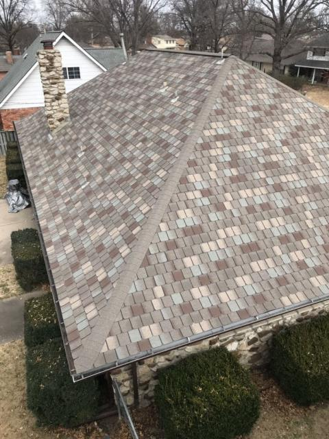 Tulsa, OK - Exterior, gutters, and roofing