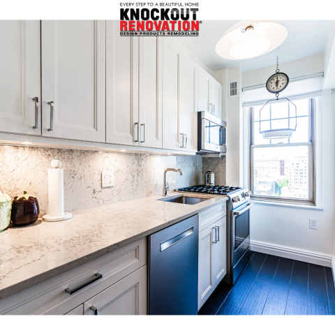 New York, NY - NYC Kitchen renovation from all in one Design and Build Knockout Renovation
