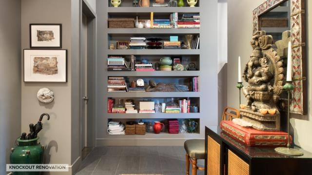 New York, NY - Home Office renovation. East Harlem Design, Shop & Build all areas of the home with Knockout Renovation.