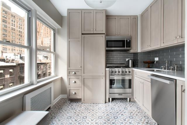 New York, NY - Kitchen renovation with emphasis or storage solution. Reclaim your counter space.