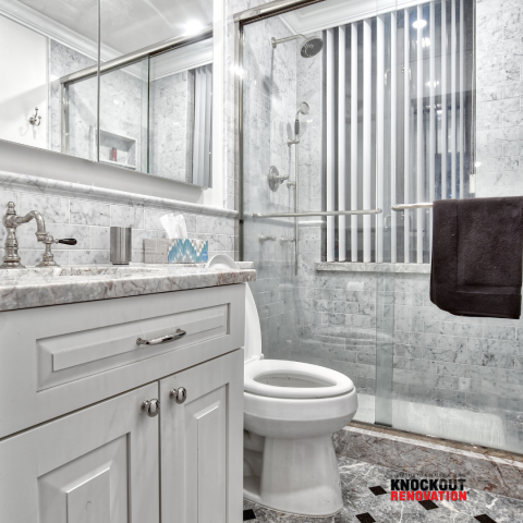 New York, NY - Clean Update Gut Bathroom renovation. Condo owners in NYC !!! Look out for knockout renovation to update your home.