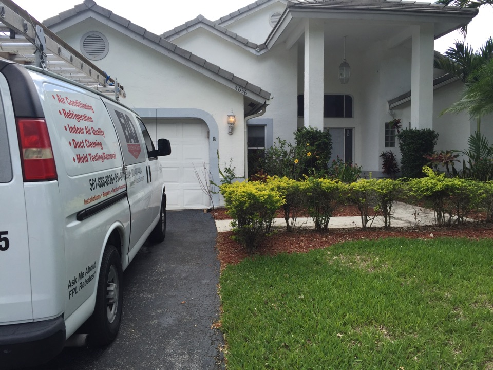 Coral Springs, FL - Performed an AC assessment.