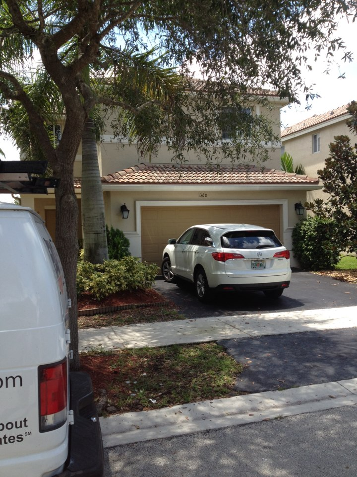 Weston, FL - We did duct cleaning for hivac ac. Cleaned and sanitized all ducts and vents. Total was 14 vents.