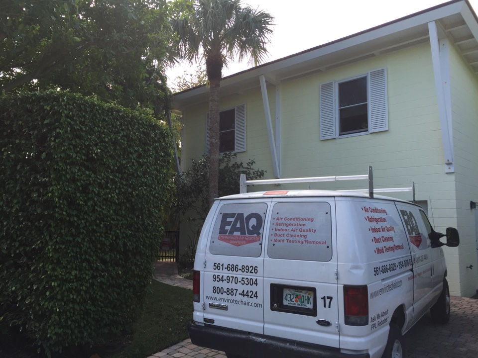 Palm Beach, FL - Mold remediation estimate at residence on Palm Beach Island.