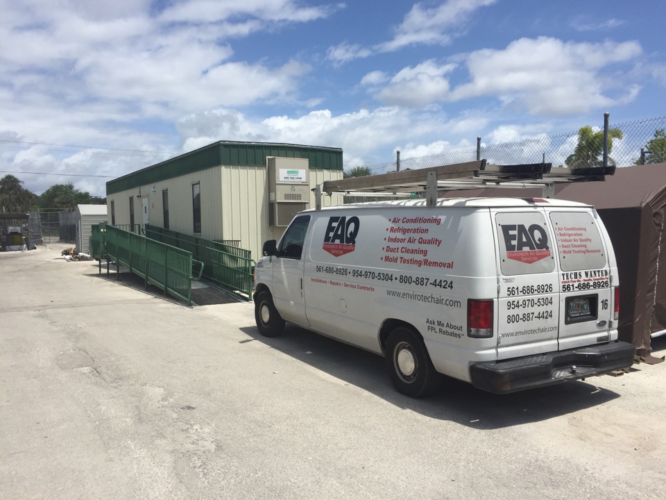 Loxahatchee, FL - Duct cleaning and encapsulation, cleaning coil in place and sanitized everything at lion country safari