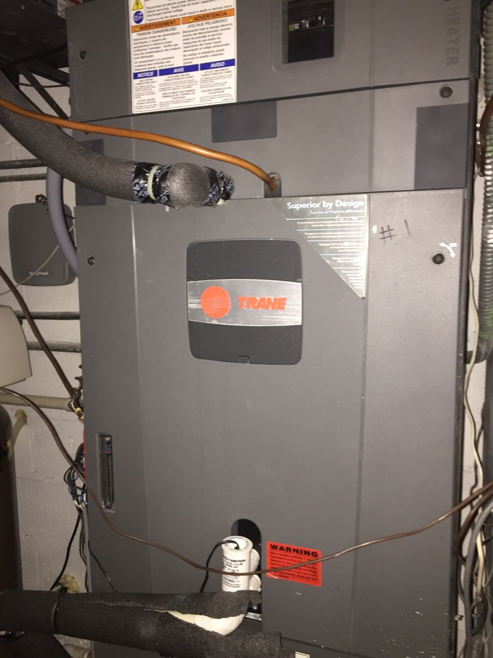 Palm Beach, FL - Drain line clogged on tam7 air handler