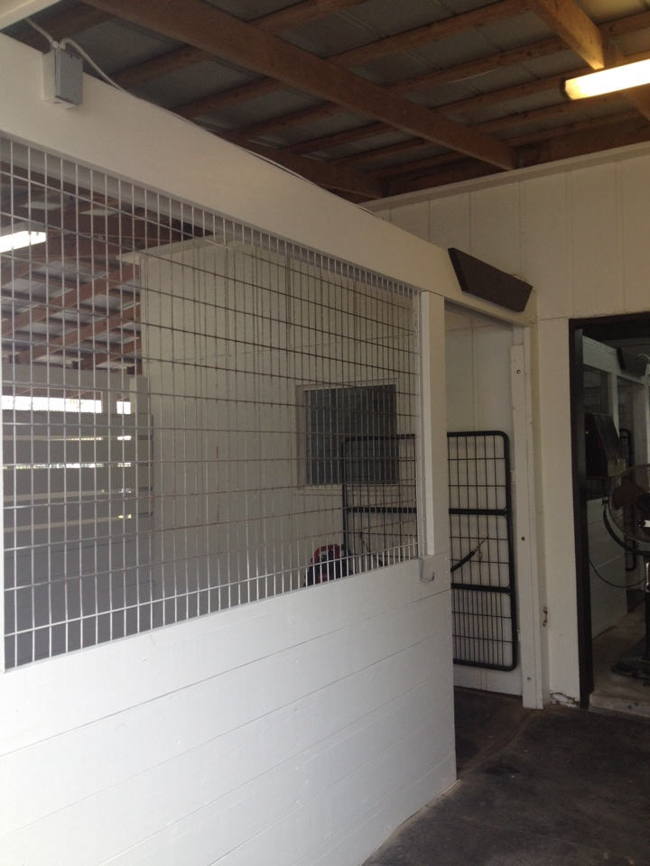 Loxahatchee, FL - EAQS started micro cleaning for a horse stable in loxahachee micro cleaned all outside stables