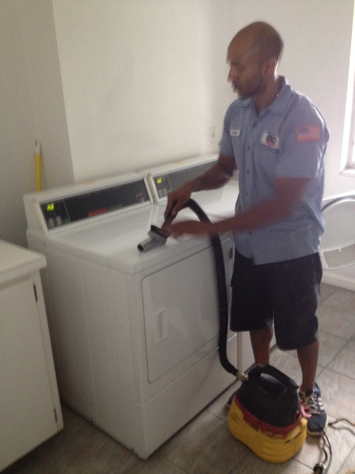 Fort Lauderdale, FL - EAQS did dryer vent cleaning for 23 buildings at imperial point in Fort Lauderdale