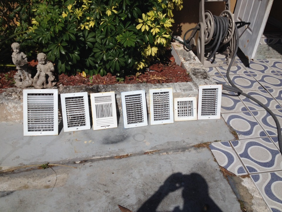 Royal Palm Beach, FL - EAQS did ac duct cleaning for Noah restoration in royal palm beach cleaned and sanitized all ducts