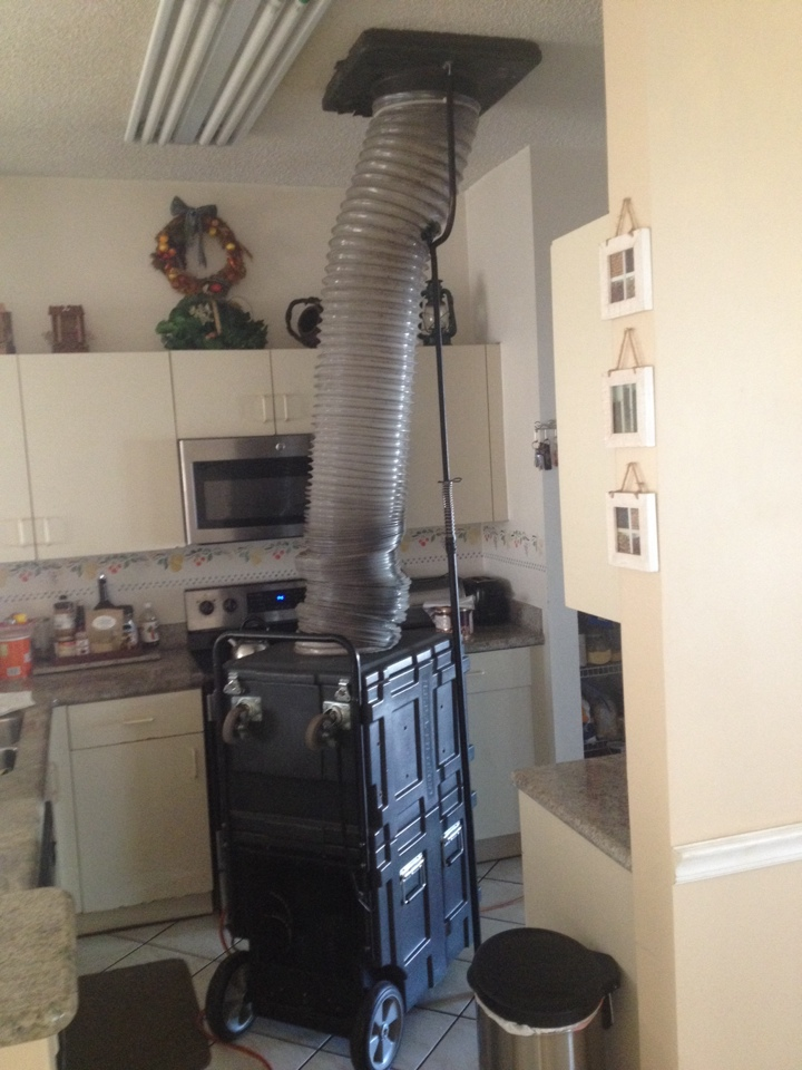 Miramar, FL - EAQS did ac duct cleaning for hivac in mirimar cleaned and sanitized all ducts