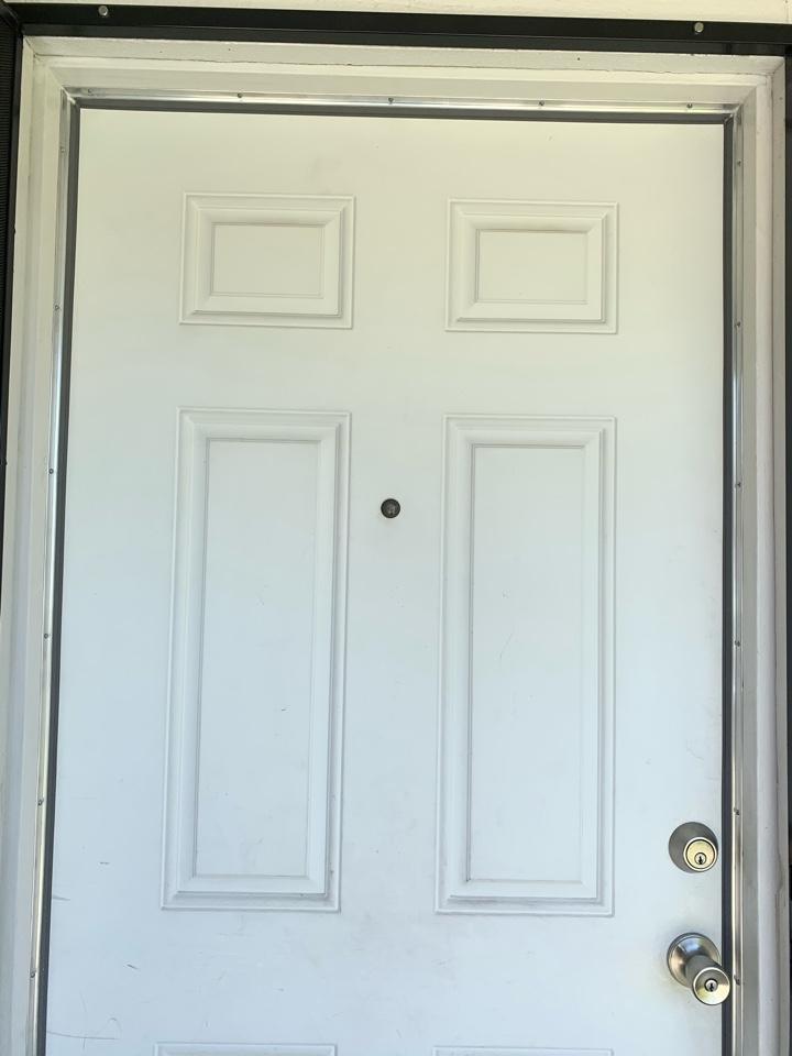 Fontana, CA - Weatherstripped doors