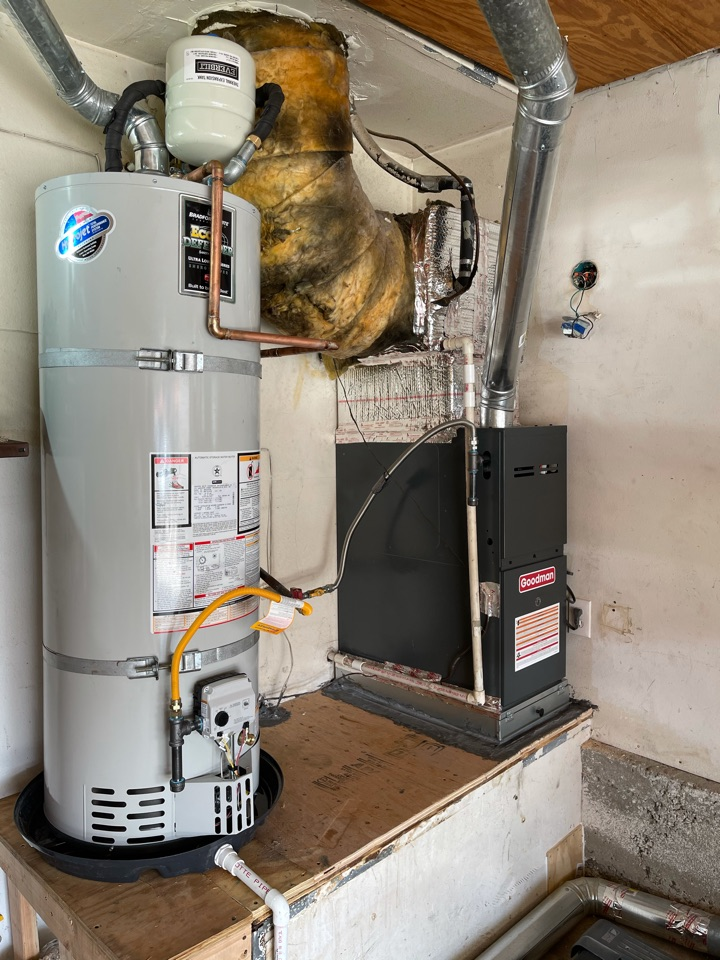 Moreno Valley, CA - New water heater and furnace for another happy customer!