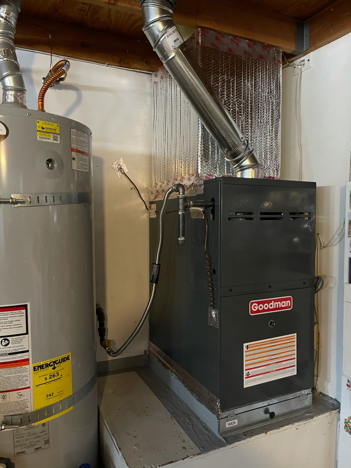 Newport Beach, CA - Furnace install for another happy customer!