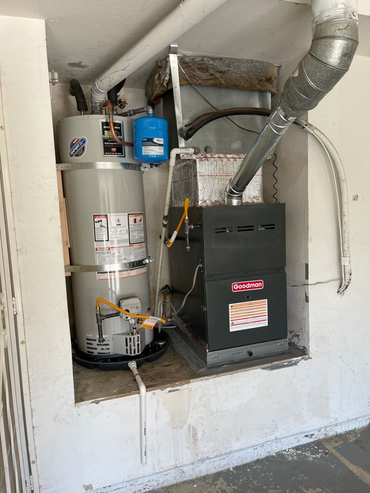 Corona, CA - Water heater and furnace changeout!
