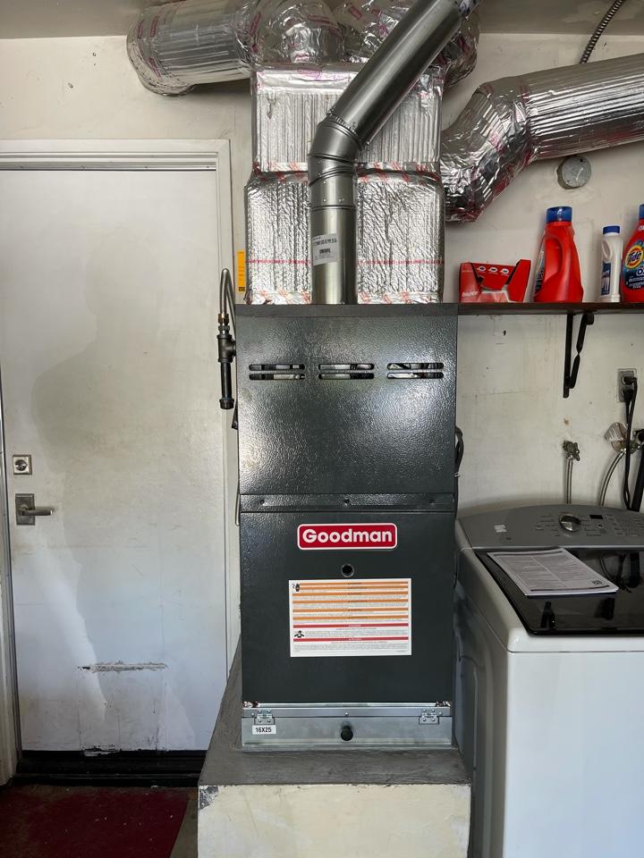 Thousand Oaks, CA - New furnace install!