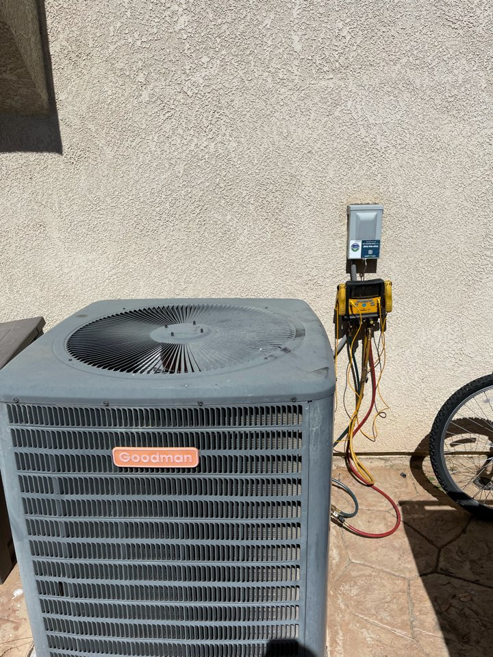Menifee, CA - Ac clean and tune before summer time!