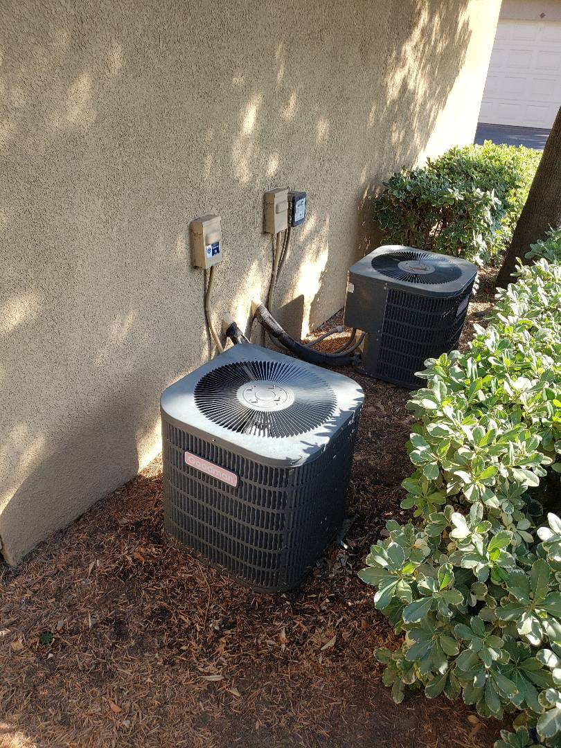 Murrieta, CA - A/C tune up, making sure this A/C doesn't quit on the customer on this Hot summer