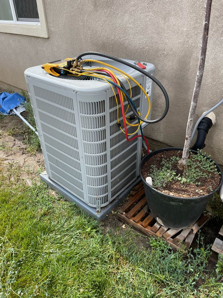 Menifee, CA - Ac tune up for another happy customer!