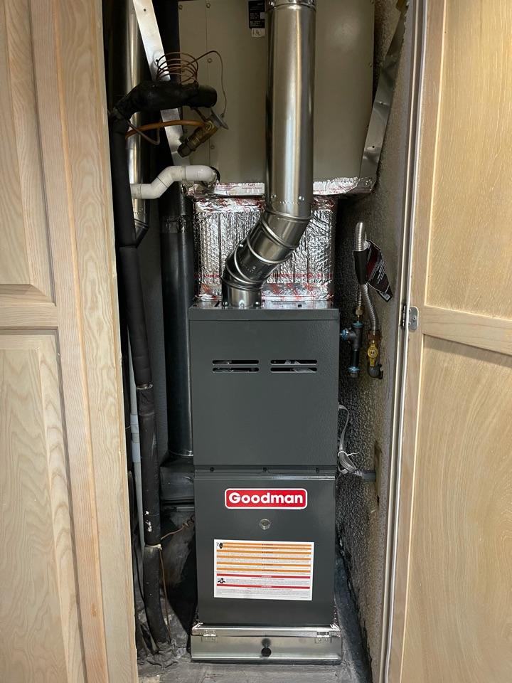Desert Hot Springs, CA - New furnace install!
