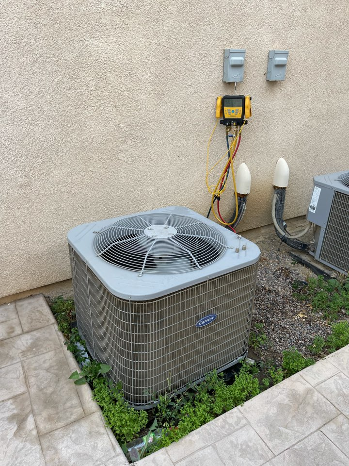 Temecula, CA - Ac clean and tune for another happy customer!