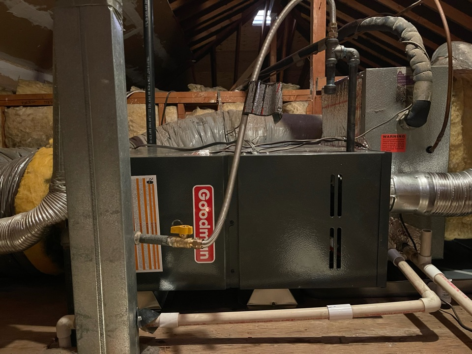 Lake Forest, CA - New furnace install for another happy customer!