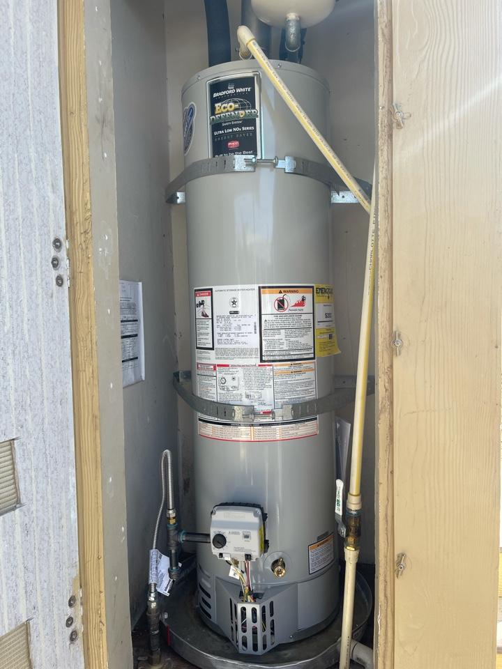 Santa Paula, CA - Water heater install for another happy customer!