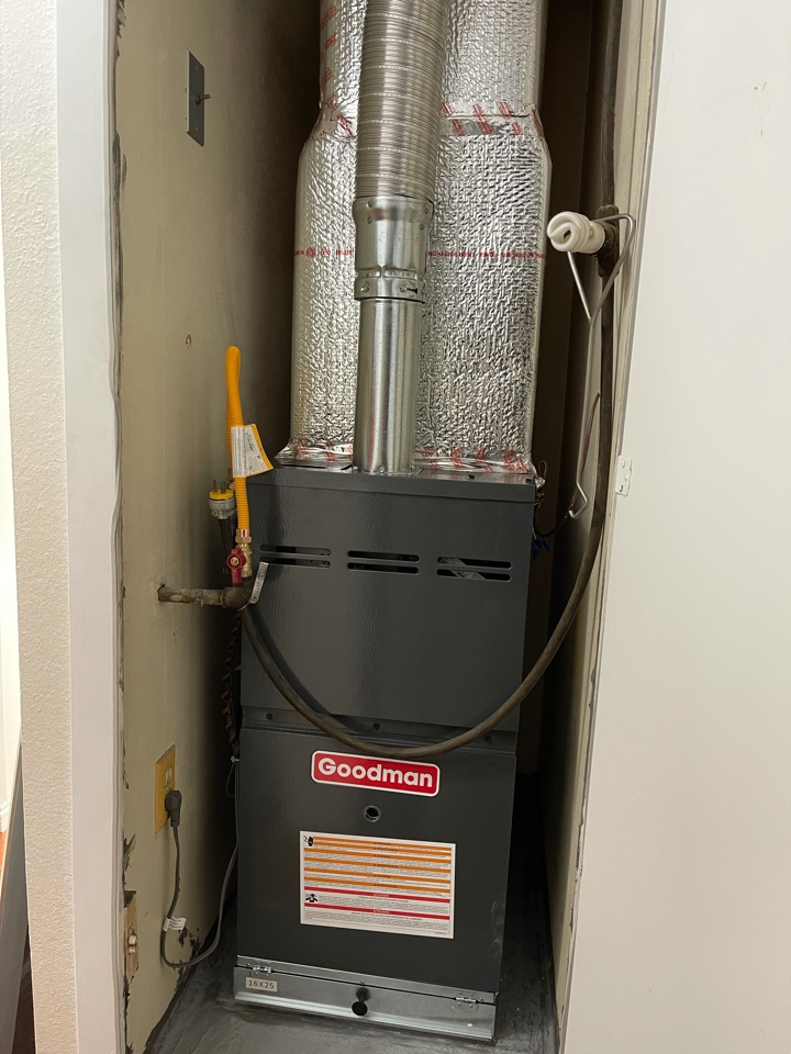 Oxnard, CA - Furnace install for another happy customer!