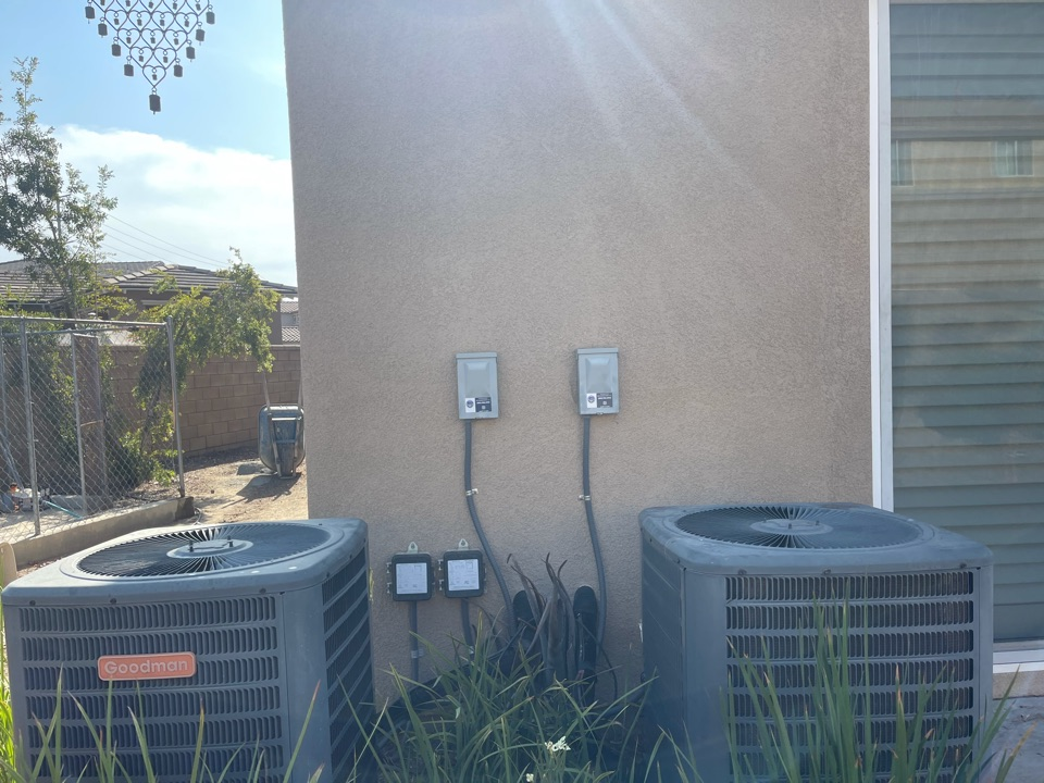 Menifee, CA - A/C clean and tune for another happy customer!